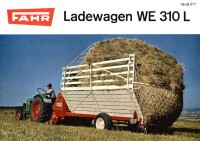 Ladewagen WE 310 L